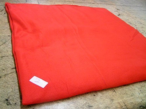 KosiPet® Luxury FLEECE Pet Dog Cat Bed Mat With Fibre Pad (LARGE, RED)