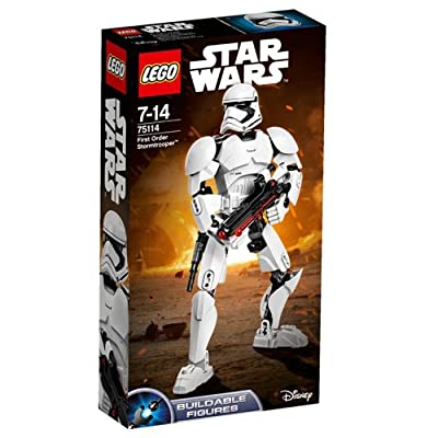 LEGO 75114 Constraction Star Wars First Order Stormtrooper Building Set - Multi-Coloured