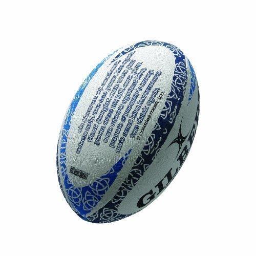Gilbert International Blumen Of Scotland Rugby Erinnerungsstücke Hymne Ball-replik