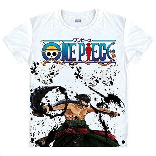 One Piece T-Shirt Roronoa Zoro Kostüm Cosplay ()