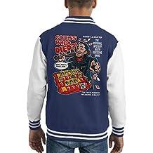 Guess Who Died Negan Walking Dead Kid's Varsity Jacket