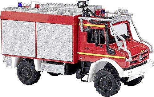 Busch 51053 H0 Mercedes Benz Unimog U 5023 Feuerwehr