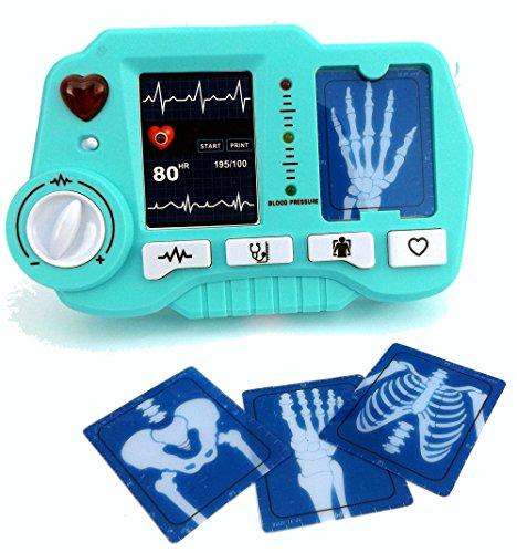 ⛑ Spielzeug EKG - und Röntgen Gerät mit realistischer Funktion- darf in keinem Spielzeug Arztkoffer fehlen ⛑ thumbnail
