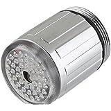 LED Licht Wasser Hahn 7 Farbwechsel glühen Dusche Leitungsstrom
