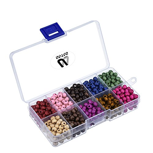 outus-700-pieces-6-mm-round-wood-beads-with-box-for-jewelry-making-assorted-colors