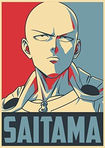 Poster One Punch Man - Saitama A3 (42x30 cm) A