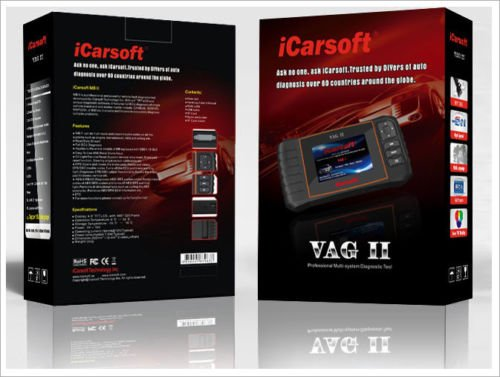 Valise de diagnostique OBD2 – VAG – ICARSOFT VAG II