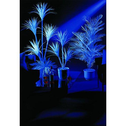 artplants – Deko Yucca, 4-stämmig, uv-weiß, 180 cm – Plastik Palme/Künstliche Schwarzlicht Pflanze