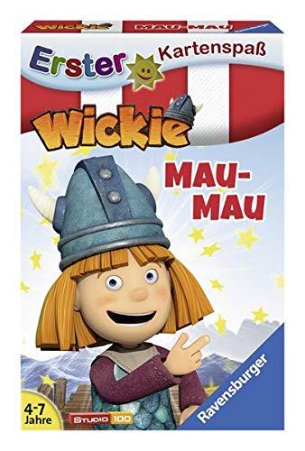 Ravensburger Kinderspiele 20329 Kartenspiel-Wickie Mau, Grey
