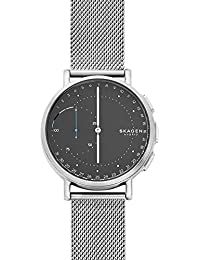 Skagen Damen-Armbanduhr Analog One Size, silberfarben, grau