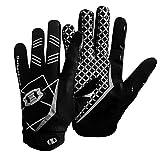 Seibertron Pro 3.0 Elite Ultra-Stick Sports Receiver/Empfanger Handschuhe American Football Gloves Jugend und Erwachsener schwarz XXS