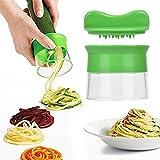 eLander Spiralizer de Légumes, Spiral Cutter Set, légumes Spaghetti de pommes de terre, courgettes asperges éplucheur, concombres Schne