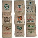 Caffè sacco in juta con stampa multicolore Sack Original fai da te decorazione giardino 20 pcs