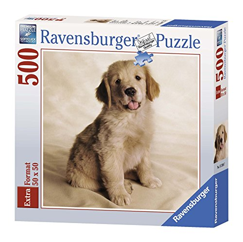 Ravensburger 15208 Cucciolo Golden Retriever Puzzle 500 pezzi quadrati