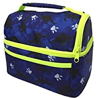 Lunch Bag for Boys or Girls | Lunch Box for Kids | Kindergarten Pre-K Insulated Lunch-Bag Lunch-Boxes | Blue