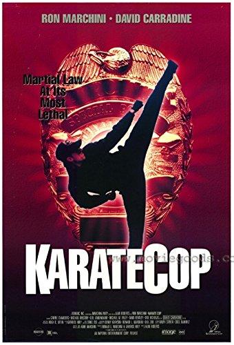 Karate Cop Movie Poster (27,94 x 43,18 cm)