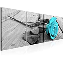 Bilder Blumen Rose Wandbild 160 X 50 Cm Vlies   Leinwand Bild XXL Format  Wandbilder Wohnzimmer