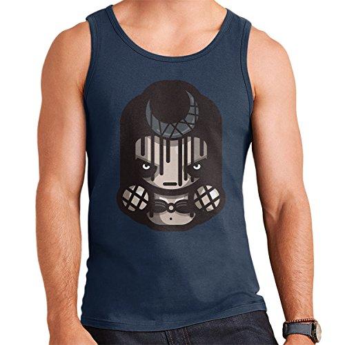 Simpler Enchantress Suicide Squad Men's Vest Navy Blue