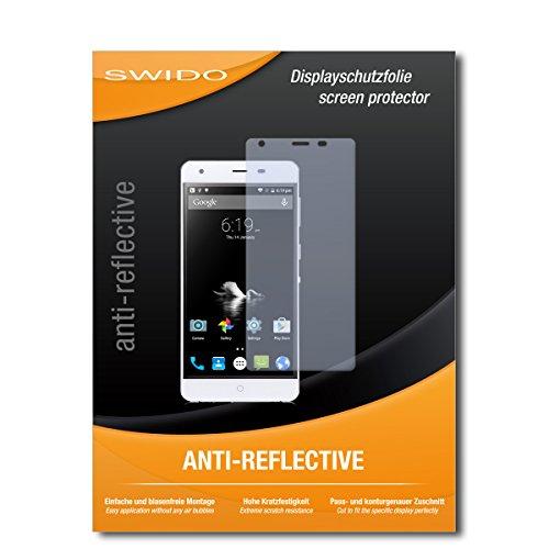 SWIDO Schutzfolie für Ulefone Power [2 Stück] Anti-Reflex MATT Entspiegelnd, Hoher Härtegrad, Schutz vor Kratzer/Bildschirmschutz, Bildschirmschutzfolie, Panzerglas-Folie