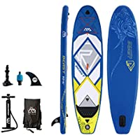YONGMEI Almighty Sup Paddle Board Esquí acuático Surf Paddle, 126 * 31.9 * 5.9in (Color : Azul)