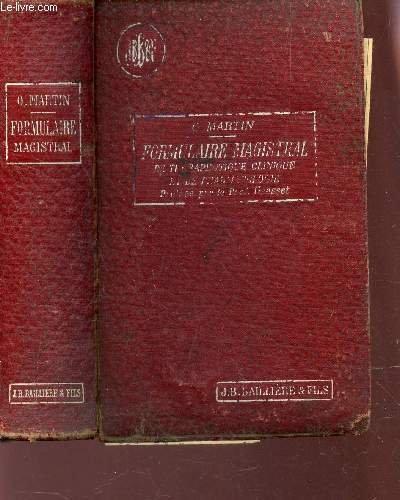 NOUVEAU FORMULAIRE MAGISTRAL DE THERAPEUTIQUE CLINIQUE ET DE PHARMACOLOGIE / 4e EDITION.