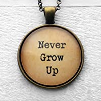 "Peter Pan ""Never Grow Up."" Non C"
