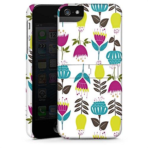 Apple iPhone X Silikon Hülle Case Schutzhülle Tulpen Flower Muster Premium Case StandUp