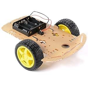 XCSOURCE intelligente Robot Car Chassis Tracing Kit / velocit¨¤ Encoder Wheel Gear Motor Arduino TE160