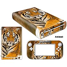 Linyuan Skin Sticker Decal Cover Case 0062# para Nintend WII U Console And Controller