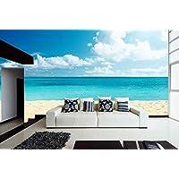 Amazon.es: vinilos decorativos playa - Obras de arte y material ...