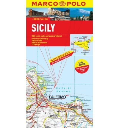 [(Sicily Marco Polo Map)] [ By (author) Marco Polo ] [June, 2012]