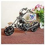 GWModel Vintage Big Motorrad Modell Handarbeit Eisen Kunst Antike Modell Fahrzeug Sammlung Home Desktop Retro Metall Deko Kreative Persönlichkeit Ornament Hochwertige Geschenk, Bronze