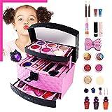Kinderschminke Schminkkoffer Koffer Schminkset Kinder Schminkkoffer Mädchen Schönheit Spielzeug Geschenk für Kinder