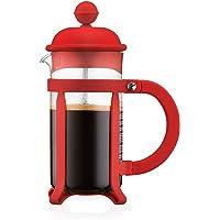 Bodum - 1903-294 - Java - Cafetière à Piston 3 Tasses - 0,35 L - Rouge