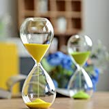 Best Gifts & Decor Glass Desks - Large Fashion Colorful Sand Glass Sandglass Hourglass Timer Review