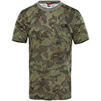 The North Face S/S Simple Dome, T-Shirt Uomo, Verde Miliare, XL