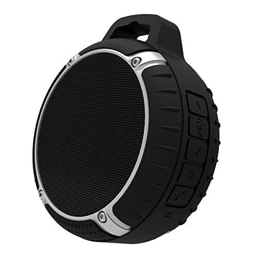 Dual-funktion Grill (IPX7 Wasserdicht Bluetooth Lautsprecher, Bluetooth 4.0 Lautsprecher Beweglicher drahtloser Lautsprecher mit 5W Energien-Baß und leistungsfähiger nachladbarer Batterie)