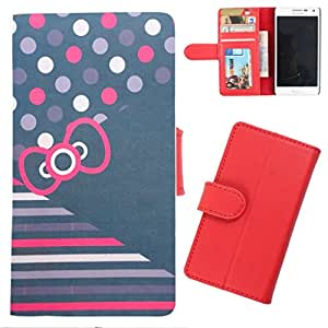 DooDa - For Samsung Galaxy Y PU Leather Designer Fashionable Fancy Wallet Flip Case Cover Pouch With Card, ID & Cash Slots And Smooth Inner Velvet With Strong Magnetic Lock