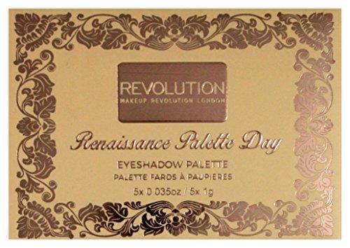 Makeup Revolution Lidschatten Palette Renaissance Palette Day