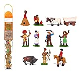 Safari Toobs Wild West Miniatur Replica Set