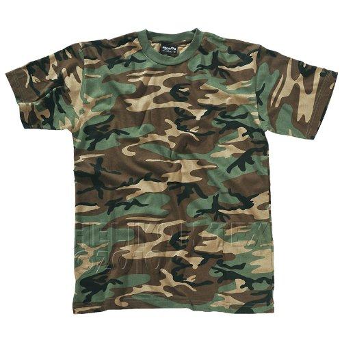 Helikon T-Shirt US Woodland Größe XL