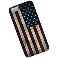 Slim Case for iPhone 5, 5s, SE. Tasche Cover. Flag of the United States. USA Flag.