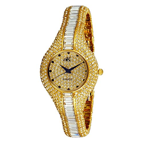 ADEE Kaye Women's Corona Royal 31.2MM Ceramic Band Quartz Watch AK9-68LG
