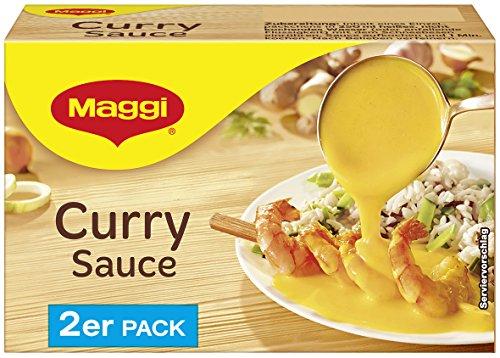 Maggi Curry Sauce, 2er Pack, ergibt 2 x 250 ml