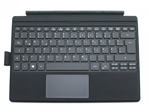 Acer Tastatur inkl. Topcase DE (deutsch) schwarz/schwarz mit Backlight Original Switch Alpha 12 (SA5-271) Serie