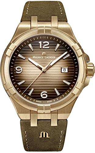 Maurice Lacroix Aikon Bronze AI1028-BRZ01-720-1 Montre-Bracelet pour Hommes Édition Très Limitée