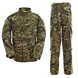 ALK Softair Paintball Tarn-Uniform Set, Jacke/Hose, multicam, S
