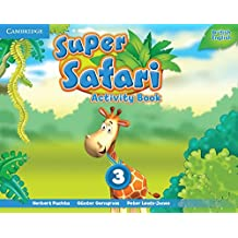 Super Safari Level 3 Activity Book (Super Minds) - 9781107477087