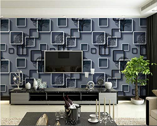 Wohnzimmer Tv-hintergrund Wand Tapete 3d-stereo-wohnhaus Wohnmobil Tapete 10m*0.53m/roll 2
