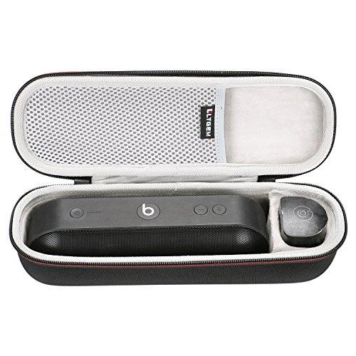 LTGEM EVA Hart Fall Reise Tragen Tasche für Beats by Dr. Dre Pill+ Lautsprecher.Passt USB-Kabel und Wand Ladegerät.